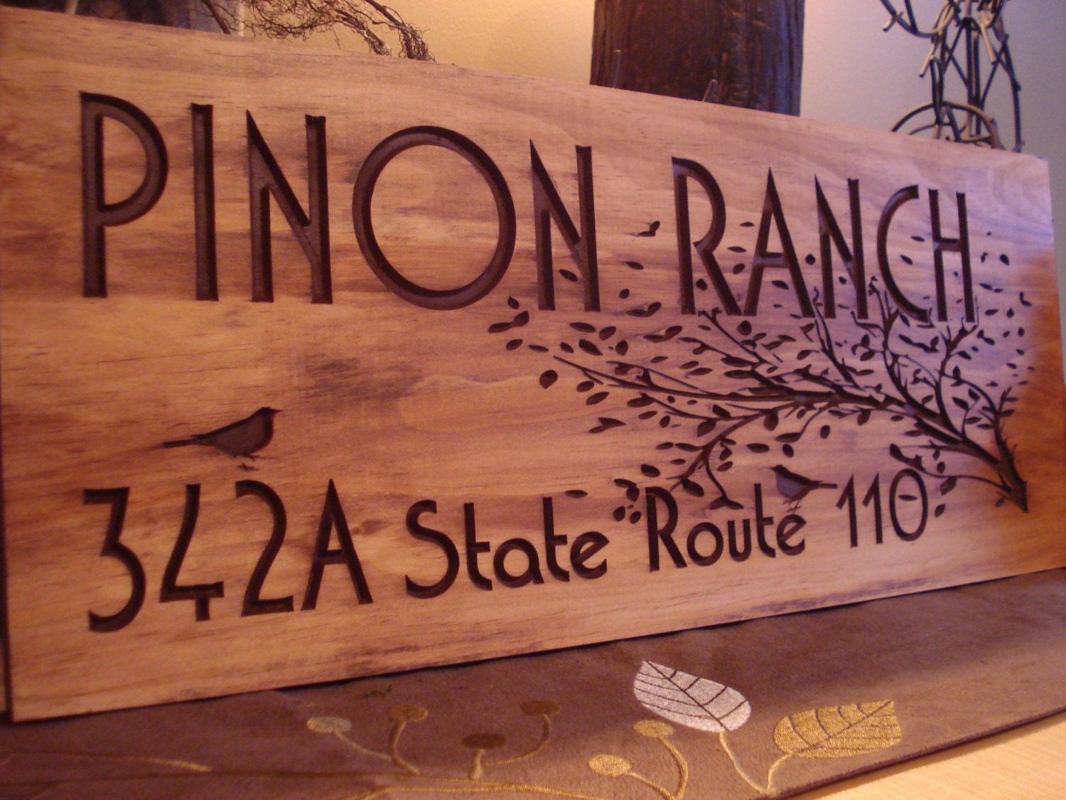 Custom Wood Signs For Home
