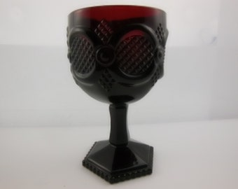 Water Goblet - Vintage Avon 1876 Cape Cod Collection Water Goblet