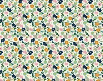 Blend Fabrics, Garden Roost, Elizabeth Grubaugh, Confetti Flower Ivory