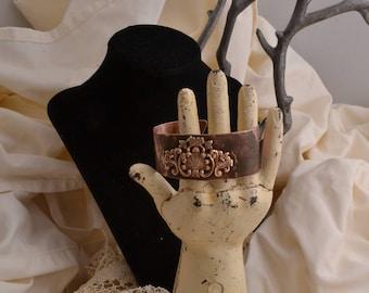 Copper & Brass Cuff Bracelet