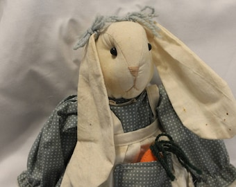 Home Decor- Vintage Great Little Country Bunny with Long Floppy Ears