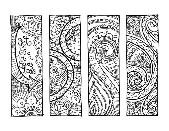 coloring pages bookmarks - photo#5