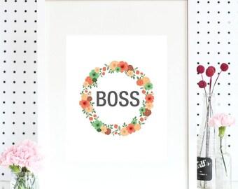 Art Print - BOSS