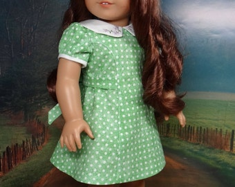 1940s and 1950s vintage style princess seam dress for American Girl or Tonner My Imagination 18 inch dolls.