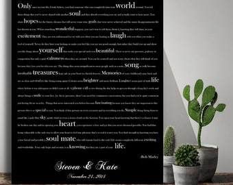 Etsy your place to buy and sell all things handmade gift for couple song lyrics wedding gift anniversary gift song lyrics paper anniversary wedding song lyrics stopboris Choice Image