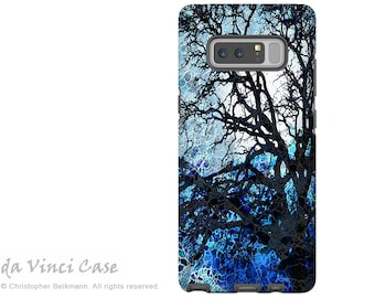Blue Tree Galaxy Note 8 Case - Abstract Art Case for Samsung Galaxy Note 8 with Artwork - Moonlit Night - Premium Dual Layer Case