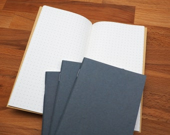 96-pages Tomoe River Paper 52gsm White / Dot Layout