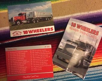Trucker Big Rig 18 Wheeler 1994 Trading Cards- Open-Fullset