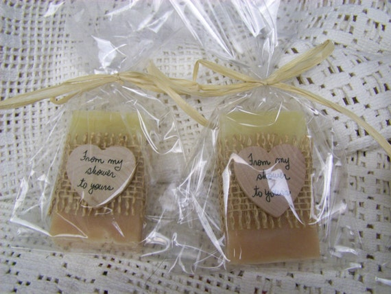 From my shower to yours, Blush favors- 40 bridal shower favors soaps, with cello bags, organic, handmade soap- select you scent/color