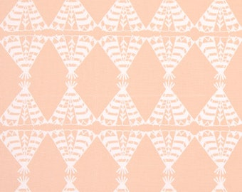 "Premier Prints Fabric-POW WOW-Sundown Peach-OR-Choice of Color-54"" wide-Premier Prints Fabric By The yard-decorator fabric"