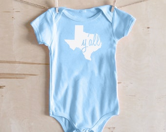 Texas Baby Clothes Etsy