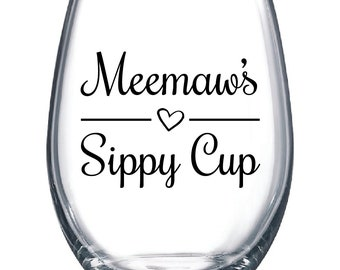 Meemaw's Sippy Cup