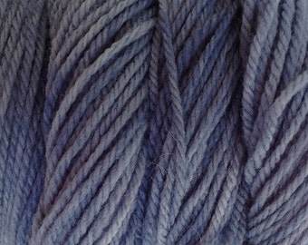 Storm Gray DK Sport Weight Hand Dyed Merino Wool Yarn