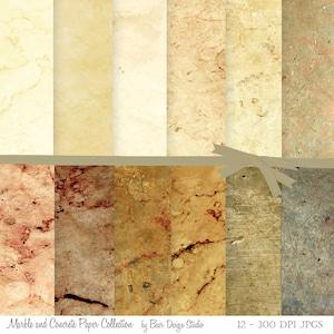 Digital Paper Marble, Ivory Stone Digital Paper, Concrete Digital Background, Textured Digital Paper, Photography Background Paper,#15060