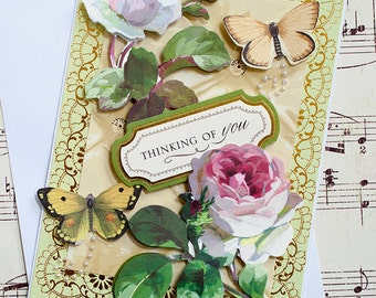 Gardening Gift, Thinking of You, Unique Card, Any Occasion, Blank Card, Anna Griffin, Card for her, Gifts for friend, Friendship Card