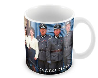 Allo Allo Ceramic Coffee Mug    Free Personalisation