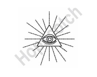 All Seeing Eye - Machine Embroidery Design