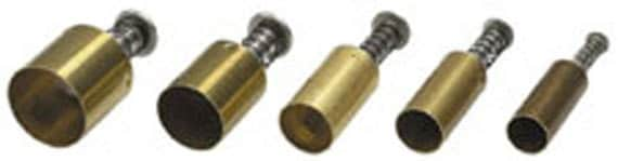 """Plunge style Circle cutter by Kemper Klay Kutters  set of 5 circles sizes 3/8"""" to 3/4"""""""
