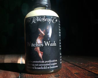 Witches Wash ~ Witchcraft ~ ritual water ~ spells ~ ritual wash ~ protection