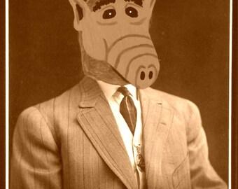 Gordon - ALFfirmation of a vintage photograph