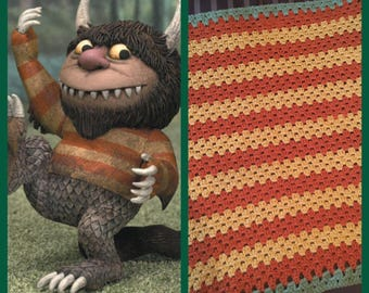 Where the Wild Things Are Baby Blanket