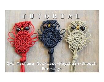 Macrame Owl Tutorial / Macrame Owl Pattern / Macramedamare