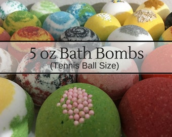 5 oz Bulk Bath Bombs, Wholesale bath bombs! Free Shipping Discount, Handmade Bath Fizzies, Party Favors