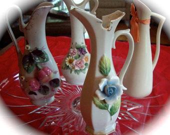 Vintage Vase Porcelain  Pitcher  Collection.