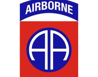 US Army 82nd Airborne Division Patch Vector Files, dxf eps svg ai crv