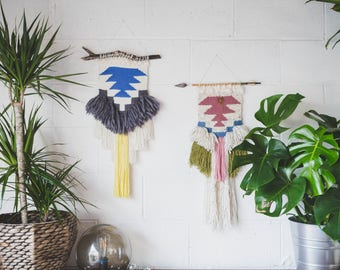 MADE TO ORDER - Woven wall hanging / Hand-made fiber art / tapestry / Weaving