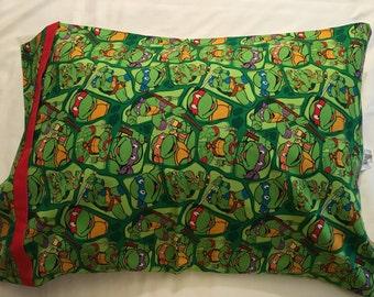 teenage ninja turtle pillow case
