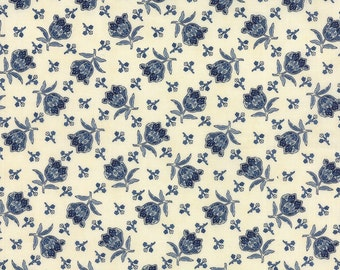 Moda Lexington Tulip Cream - Minick & Simpson - 1 yard