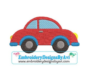 Beetle Bug Car Machine Embroidery Designs 4x4 & 5x7 Instant Download Sale