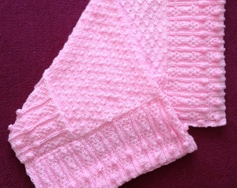 SALE! Blossom Baby Blanket knitting pattern