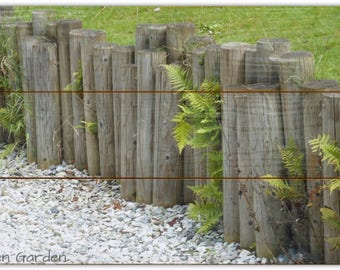 Zen Garden. Wooden Wall Art. Printed Wooden Panel. Photography by Larchcraft Studio.