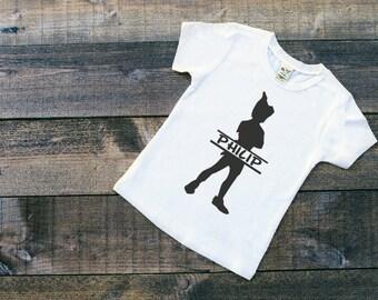 Personalized Peter Pan Shirt - Peter Pan Shirt - Little Boys Shirt - Vinyl Shirt - Neverland - Personalized Kids Shirt - Little Girls Shirt