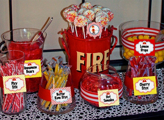 Fireman Sam Birthday Party Decorations
