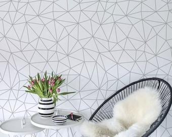 Skandinavischen Stil Wand Dekor, Einfache Wand Wandbild, Geometrisch  Abnehmbare Tapete, Wieder Verwendbar, Abnehmbar, Positionierbare MAF113