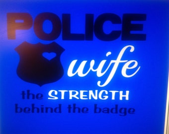 Blue Police Wife & APD Strong Women's Shirt
