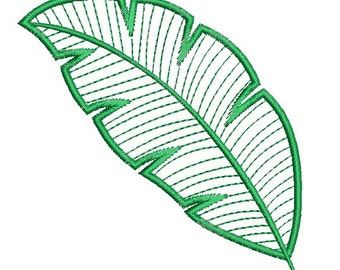 leaf applique design - Machine Embroidery Design