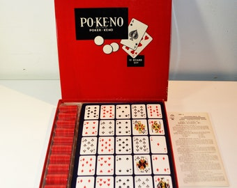 Po-Ke-No/Poker-Keno 12 Board Set