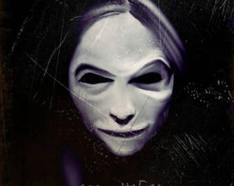 Face your Demons, Original art,instant product,dark art by missmultifairy,ooak