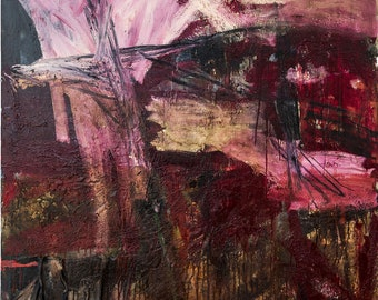 UNTITLED, 1992  /  Mixed media, oil on canvas  /  180 x 130 cm  /  Collection of the artist