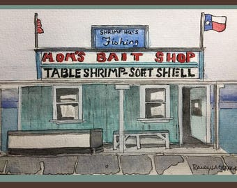 Study - Mom's Bait Shop #3