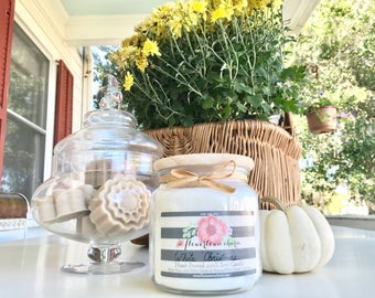 Farmhouse Apothecary Jar Soy Candle 16oz by Flowertown Charm