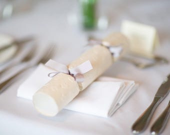 Sample Only ~ Wedding Favour Crackers ~ Place Settings ~ Unique Wedding Favours