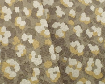 Brown P/Kaufmann Animal Print Chenille Decorating Fabric, Fabric By The Yard