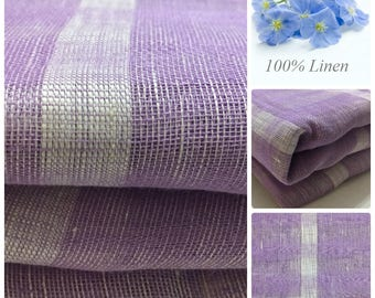 Linen fabric, Thin Linen Cloth, Pure Linen, Natural Linen, Linen Spring Summer Fabric for Cloth Fabric. Russia