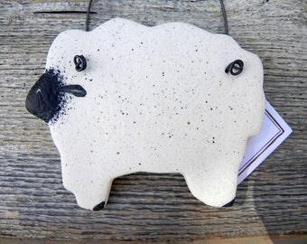 Sheep Salt Dough Kitchen  or Christmas Ornament