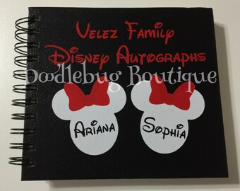 Disney Family Autograph book